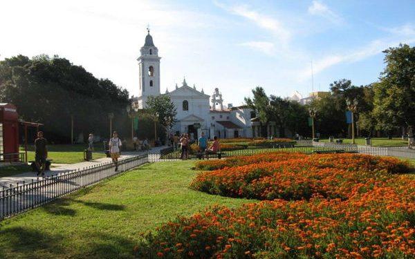 Plaza Francia in Recoleta, Argentina
