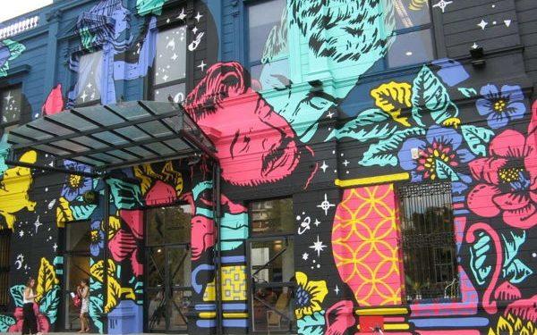 Recoleta Cultural Center street art, Argentina