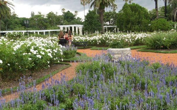 Gardens at Rosedal de Palermo, Argentina