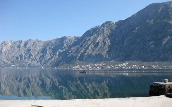 Waterfront in Kotor, Montenegro