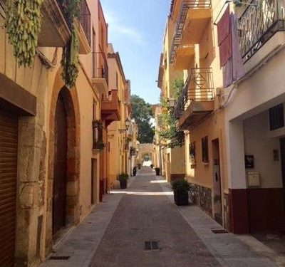 Old town Cambrils has a pretty but authentic feel