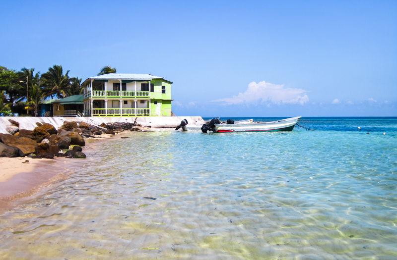 Corn Islands beach in Nicaragua