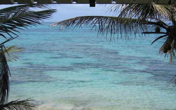 Little corn Caribbean island