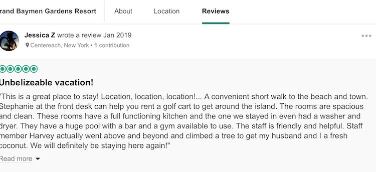 more reviews of the grand baymen