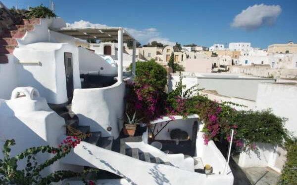 santorini apartment in greece