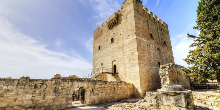 castle in cyprus limassol