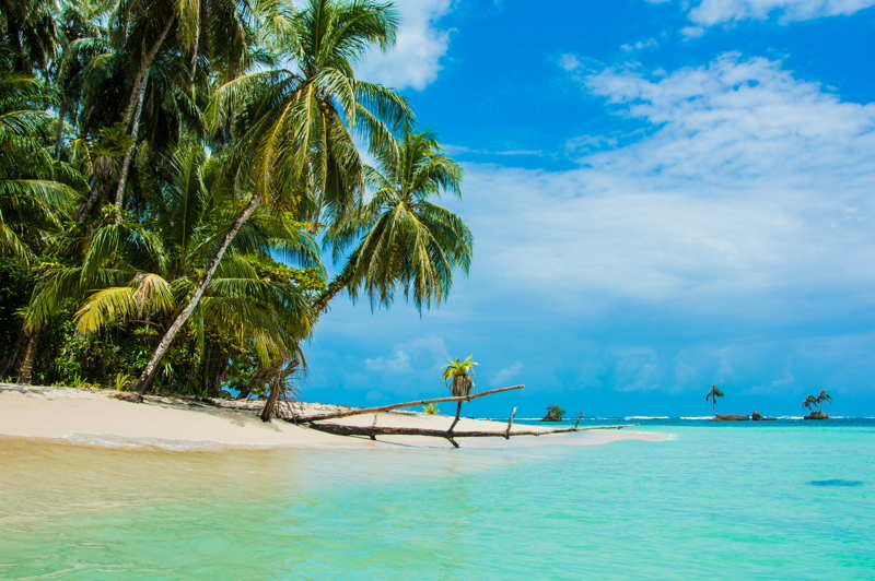 empty beach in panama