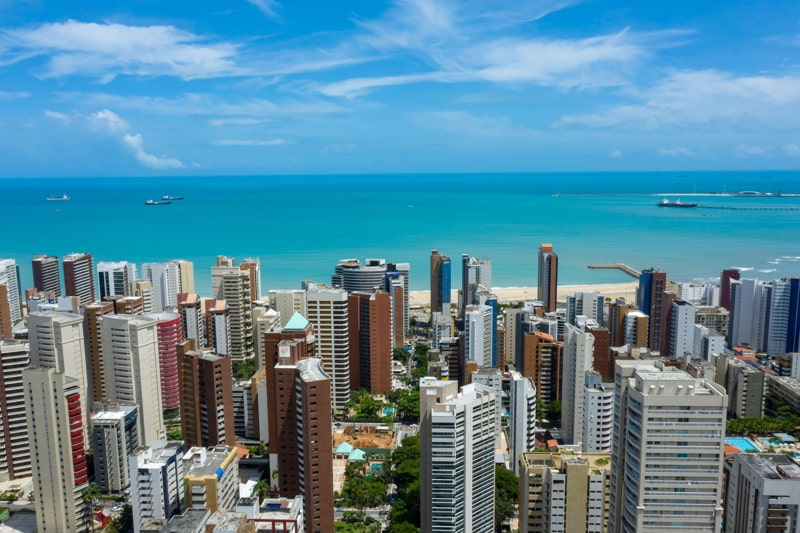 Fortaleza, State of Ceara, Brazil.