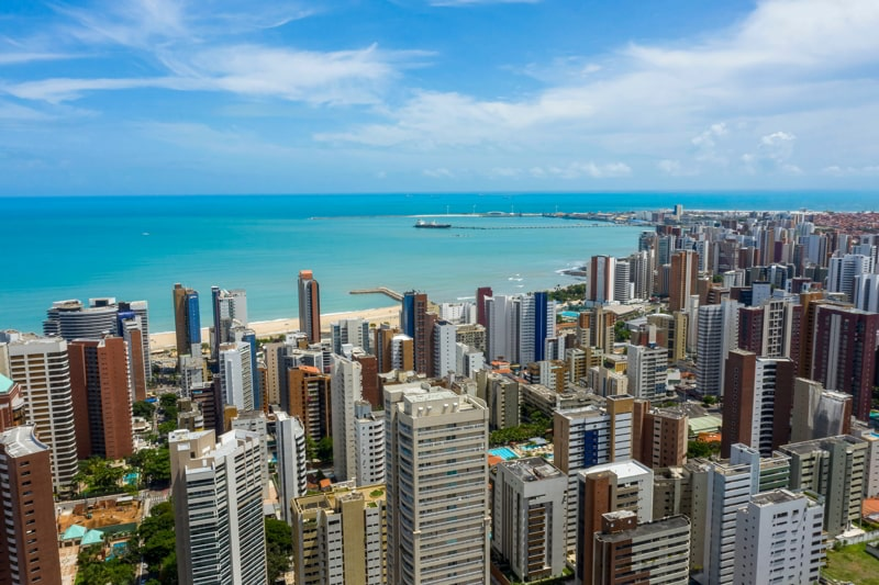 The city of Fortaleza, State of Ceara, Brazil.