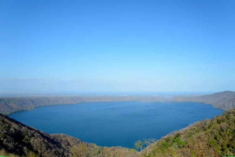Apoyo Lake in Nicaragua